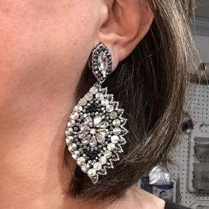 Rhinestones & Sequins & Beads, Oh My! Post Earring